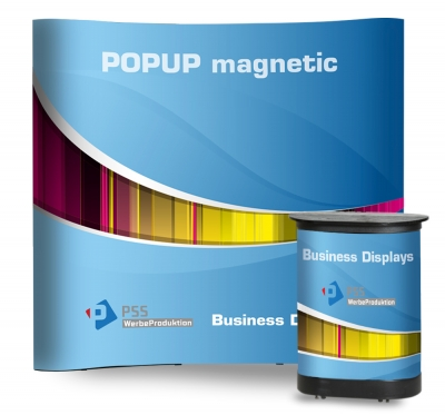 POPUP MAGNETIC mit Rollkoffer